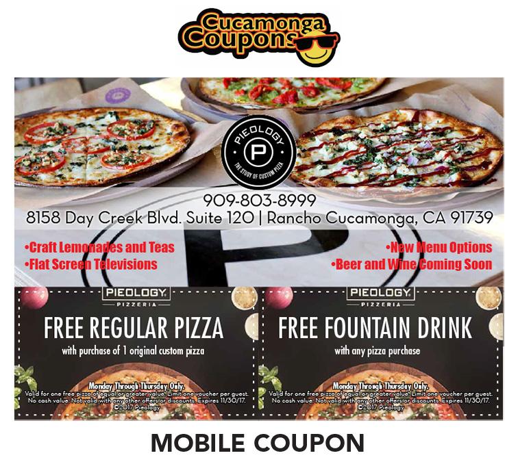 Pieology coupon code